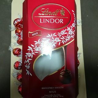 リンツ(Lindt)の最安値1箱!600gリンツリンドールチョコレート ミルク(菓子/デザート)