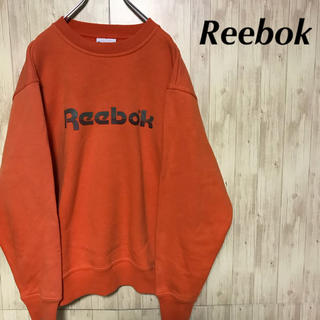 リーボック(Reebok)の美品 Reebok スウェット デカロゴ トレーナー(スウェット)
