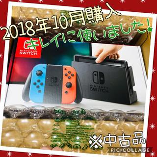 Nintendo Switch - 任天堂Switch ネオンカラー 【中古】