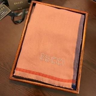 グッチ(Gucci)のGUCCI マフラー ショール 大判 冬物(マフラー/ショール)