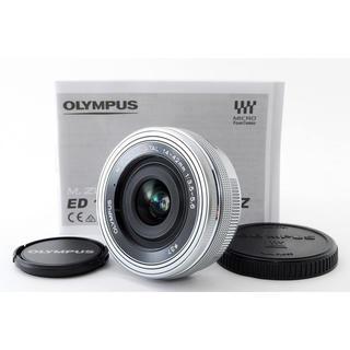 オリンパス(OLYMPUS)の★新品未使用★オリンパス14-42mm EZ シルバー(レンズ(ズーム))