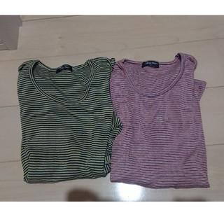 メンズ ロンT Lサイズ 七分丈 セット 新品未使用 タグなし(Tシャツ/カットソー(七分/長袖))
