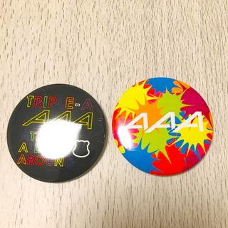 トリプルエー(AAA)のAAA 缶バッチ (ミュージシャン)
