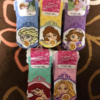 ディズニー(Disney)の[新品未使用] プリンセス ソックス(靴下/タイツ)