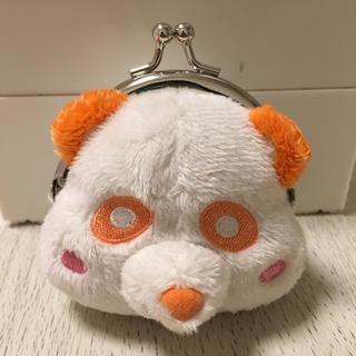 トリプルエー(AAA)のAAA え~パンダ 橙 がま口(ミュージシャン)