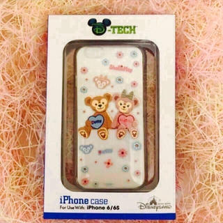 ディズニー(Disney)のオマケ付!日本未発売ダッフィーシェリーメイiphone6/iphone7ケース(iPhoneケース)
