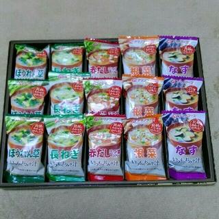 アマノフーズ いつものおみそ汁 12食(インスタント食品)