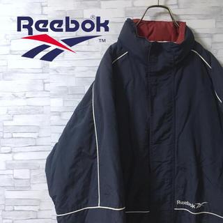 リーボック(Reebok)の【レア】Reebok/リーボック ナイロンジャケット 綿入り フード付き(ナイロンジャケット)