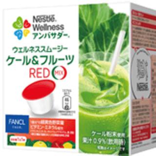 ネスレ(Nestle)のネスレ ウェルネススムージー  ケール&フルーツRED(その他)