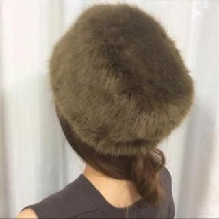 トゥモローランド(TOMORROWLAND)のゆりゆり様専用トゥモローランド購入 Bronte コサック帽 ファー帽子(ニット帽/ビーニー)
