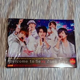 セクシー ゾーン(Sexy Zone)のWelcome to Sexy Zone Tour 初回盤 DVD(ミュージック)