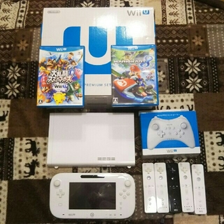Wii U - WiiU premiumset 32GB+プロコン カセット付属