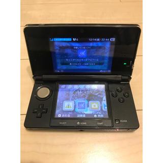 ニンテンドー3DS(ニンテンドー3DS)の3ds mhxxソフトセット(携帯用ゲームソフト)