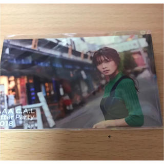 トリプルエー(AAA)のAAA ビジュアルカード 宇野実彩子(ミュージシャン)