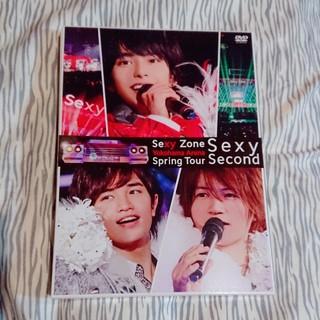 セクシー ゾーン(Sexy Zone)のSexy Zone Spring Tour Sexy Second 初回 DVD(ミュージック)