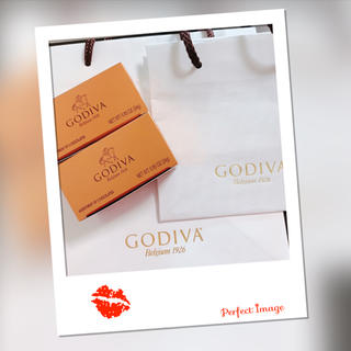 GODIVA ゴディバ☆コフレゴールドチョコレート箱入り袋付き(菓子/デザート)