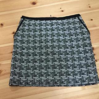 デプレ(DES PRES)の美品 トゥモローランド デプレ チェック スカート(ひざ丈スカート)