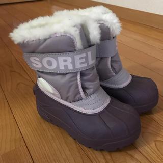 ソレル(SOREL)の【SOREL】ソレルのキッズウィンター スノーブーツ16 17 18(ブーツ)