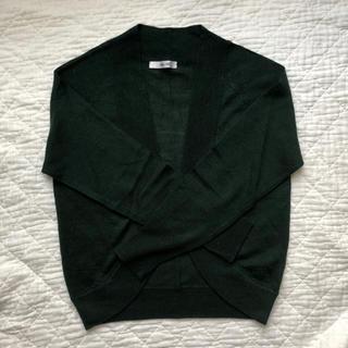 テチチ(Techichi)の深緑色のボレロ S(カーディガン)