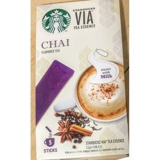 スターバックスコーヒー(Starbucks Coffee)の新品未開封★スターバックスヴィアチャイ 1箱5本入 (コーヒー)
