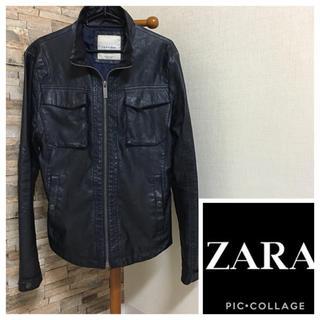 ザラ(ZARA)のZARA ☆ シングルライダース(ライダースジャケット)