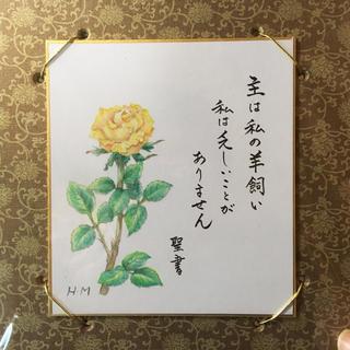 聖書 色紙 みことば クリスチャングッズ(雑貨)