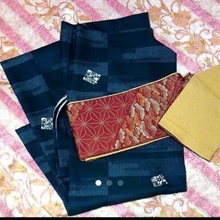 新品未使用☆洗える着物と帯セット(着物)