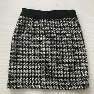 シマムラ(しまむら)のツイード スカート(ひざ丈スカート)