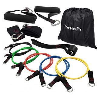TheFitLife フィットネスチューブ トレーニングチューブ 超強化版 天(トレーニング用品)