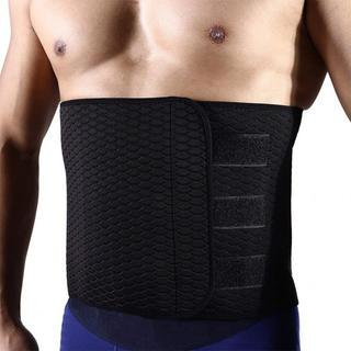 男性用シェイプアップベルト お腹引き締め 減量用 発汗ダイエットベルト運動用 腰(トレーニング用品)