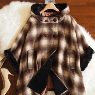ガリャルダガランテ(GALLARDA GALANTE)の◆lounge dress◆フレアコート(ポンチョ)