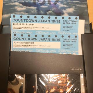 カウントダウンジャパン  28日 2枚(音楽フェス)