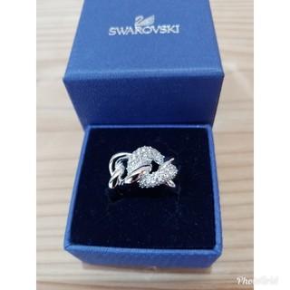 スワロフスキー(SWAROVSKI)のスワロフスキー✨指輪チェーン型 55号(13号)(リング(指輪))