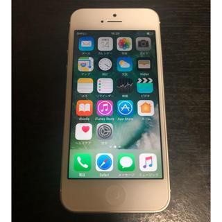 アイフォーン(iPhone)のiPhone5 au 16GB バッテリー新品 美品!!(スマートフォン本体)