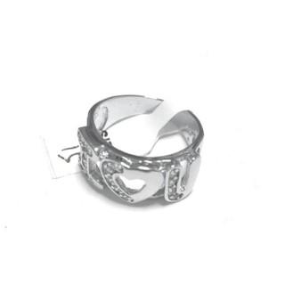 シルバー925 オラオラ系リング I♡YOU クリスマスプレゼントにも♪(リング(指輪))