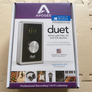 ₪美品₪ Apogee Duet for Mac iOS WINDOWS