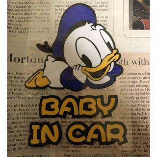 ステッカー    BABY IN CAR(その他)