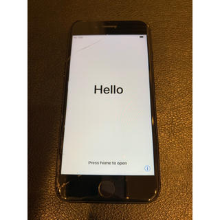 アイフォーン(iPhone)のiPhone 7 Black 128 GB docomo(スマートフォン本体)