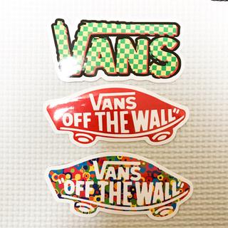 VANS - Vansステッカー★3枚セット