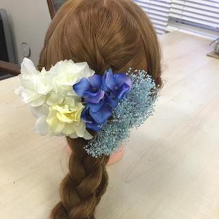 髪飾り 結婚式 成人式(ヘアアクセサリー)