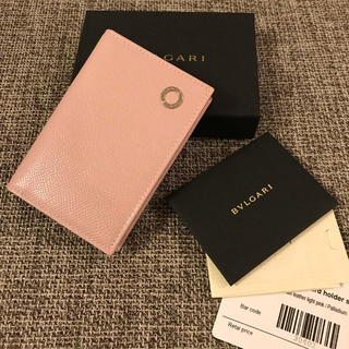 ブルガリ(BVLGARI)の新品 ブルガリ BVLGARI カードケース 名刺入れ(名刺入れ/定期入れ)