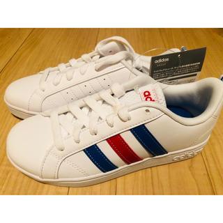 アディダス(adidas)のadidas adidas アディダス 靴 20センチ 白 新品未使用  (スニーカー)