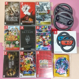Nintendo Switch - バラ売り可!任天堂スイッチソフト マリカー8、オクトラ、サガスカ、ゼノブレイド等