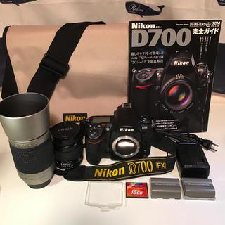 ニコン(Nikon)のNikon D700 レンズ2本、予備バッテリー、16GBメモリー、バッグ付き(デジタル一眼)