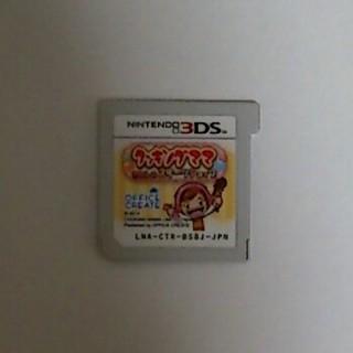 ニンテンドー3DS(ニンテンドー3DS)の3DS ソフト クッキングママ わたしのスイーツショップ(携帯用ゲームソフト)
