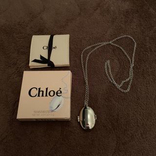 クロエ(Chloe)のクロエChloe ロケットペンダント ソリッドパフューム 難あり(ネックレス)