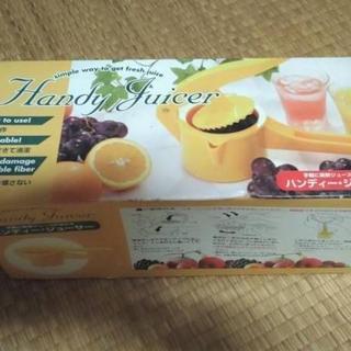高糖度12~14 有田みかん🍊 + 新品🆕ハンドジューサー 生果汁絞り器(フルーツ)