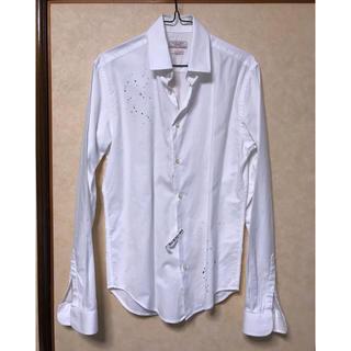 ザラ(ZARA)のZARA デザインシャツ スリムフィット(シャツ)