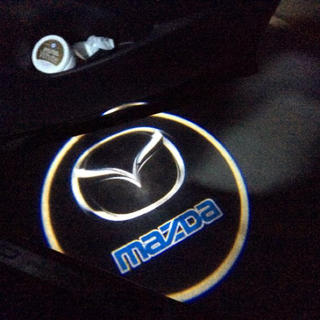 マツダ(マツダ)の【マツダ】LED ウェルカムランプ 2個セット   (車外アクセサリ)