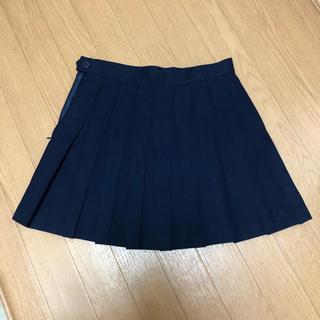 アメリカンアパレル(American Apparel)のAmerican apparel テニススカート プリーツスカート 紺色(ミニスカート)